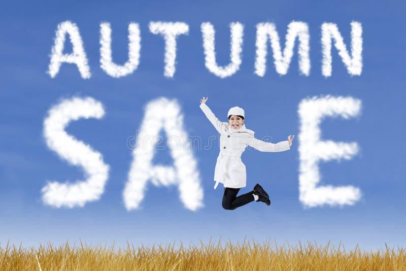 Autumn Sale stock fotografie