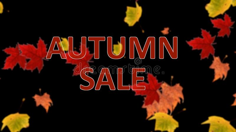 Blurred Sale Background Stock Vector Illustration Of