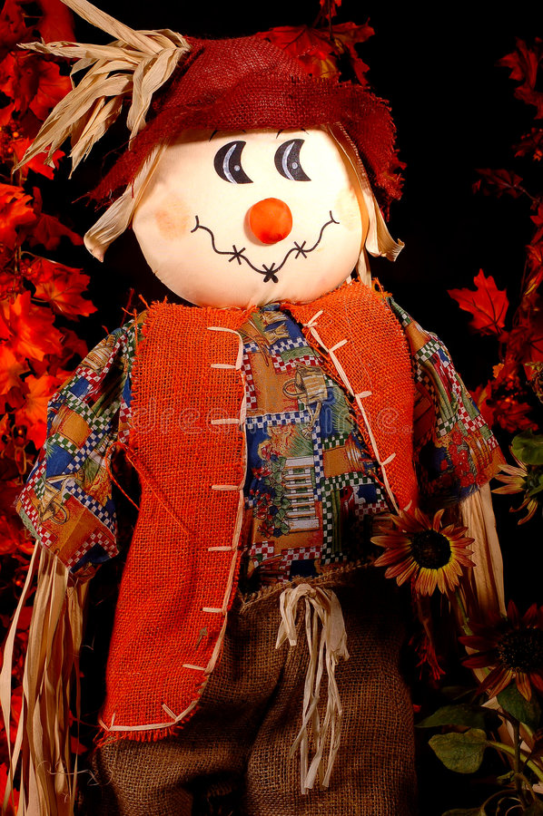 Autumn Scarecrow Two