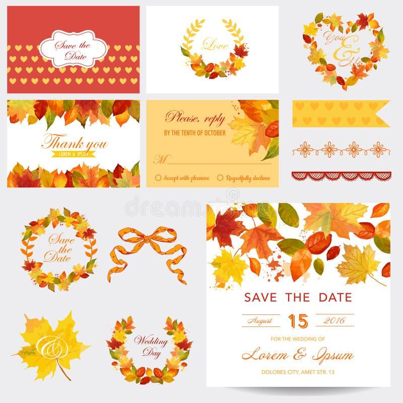 Free Autumn Scrapbook Design Elements Royalty Free Stock Image - 59297846