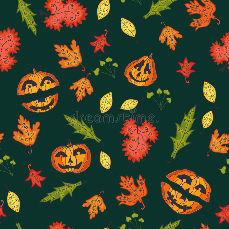 Download Autumn Seamless Background, Vector Illustration. Stock Vector - Image: 34163174