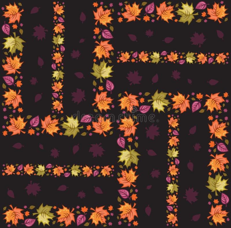 Autumn Seamless Pattern 2 vector illustration