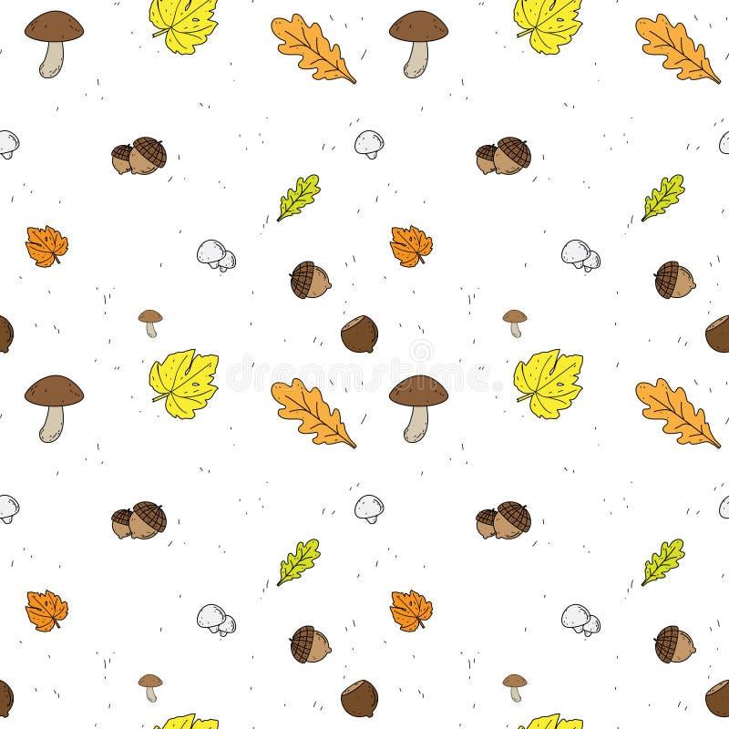 Autumn Seamless vector Background vector illustration