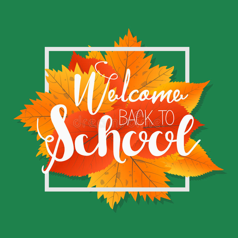 Autumn season welcome back to school painted lettering hand drawn download autumn season welcome back to school painted lettering hand drawn label and banner pronofoot35fo Image collections