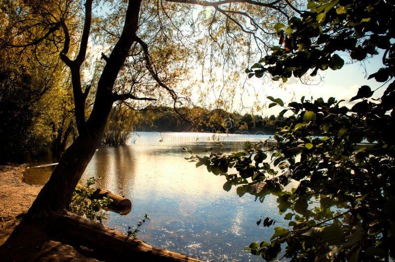 Autumn See lizenzfreies stockbild