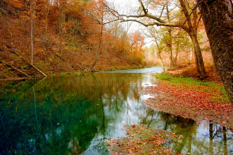 Autumn spring in missouri royalty free stock photography