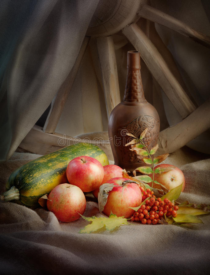 Download Autumn still life stock image. Image of alcohol, nobody - 27443629