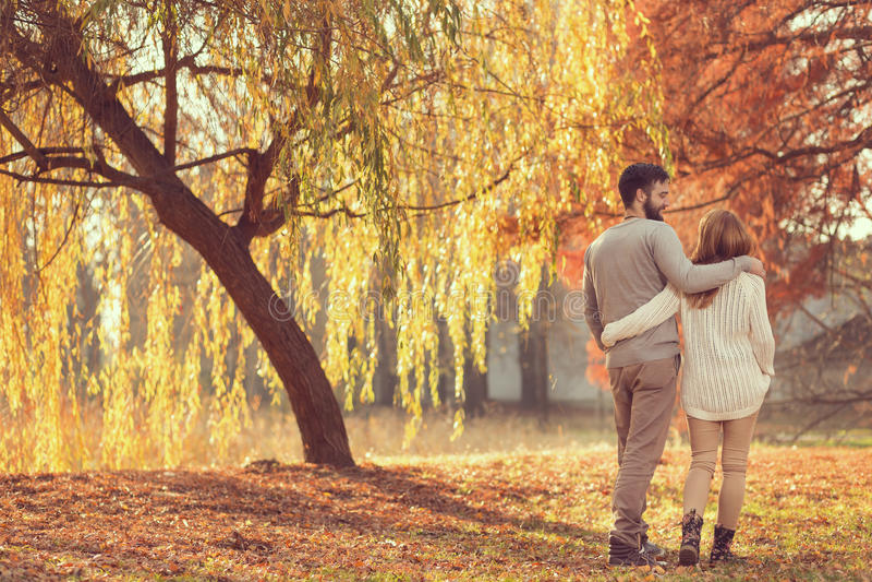 Autumn Stroll photographie stock