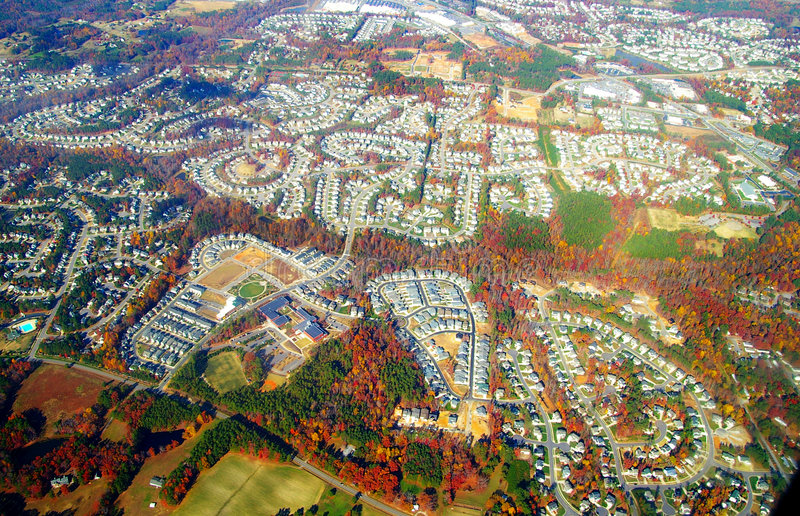 Download Autumn suburbia stock photo. Image of financial, home - 1531744