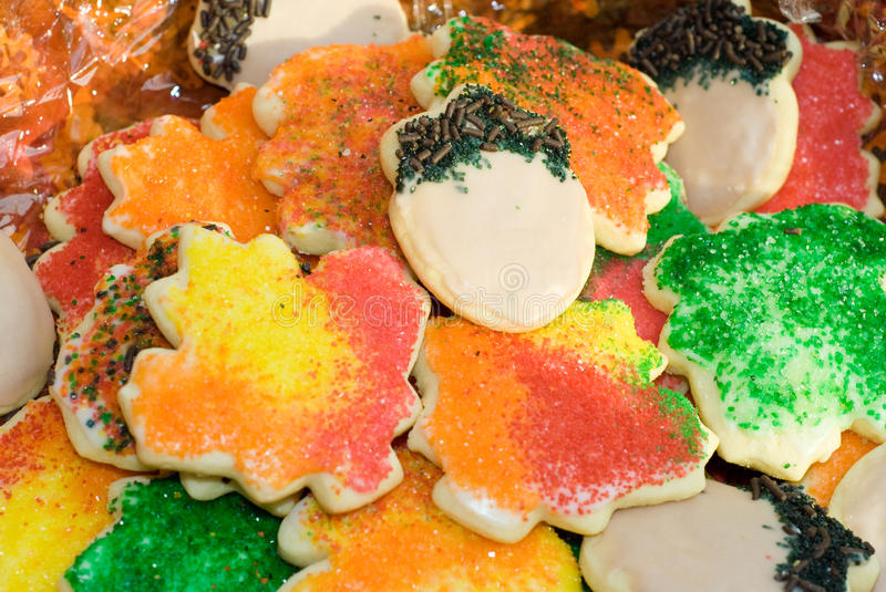 Download Autumn Sugar Cookies stock image. Image of decorated - 13250145