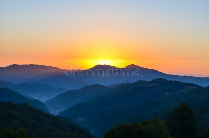 Autumn Sunrise lizenzfreies stockbild