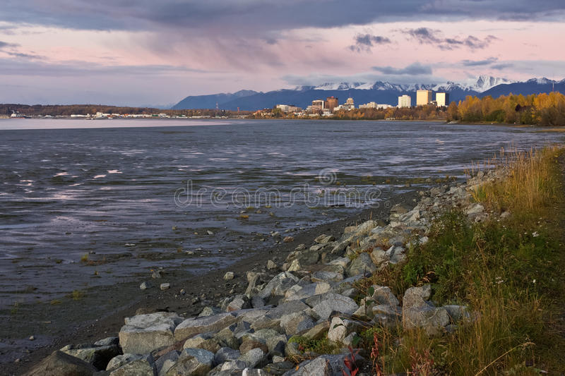 Download Autumn in Anchorage stock photo. Image of regions, alaska - 30151844