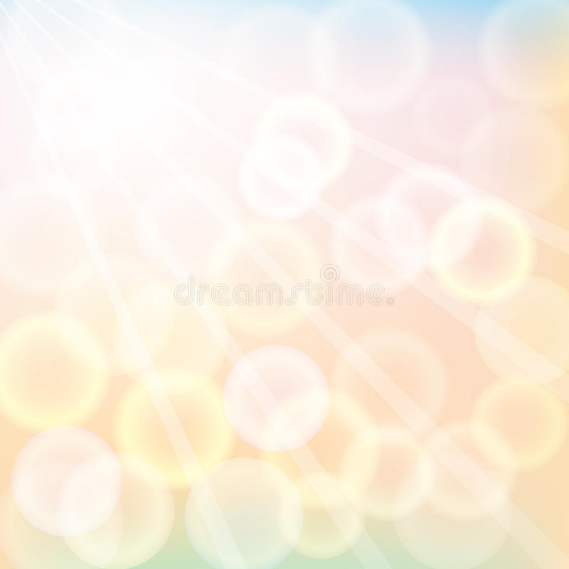 Download Autumn sunshine stock vector. Image of circle, power - 34159520