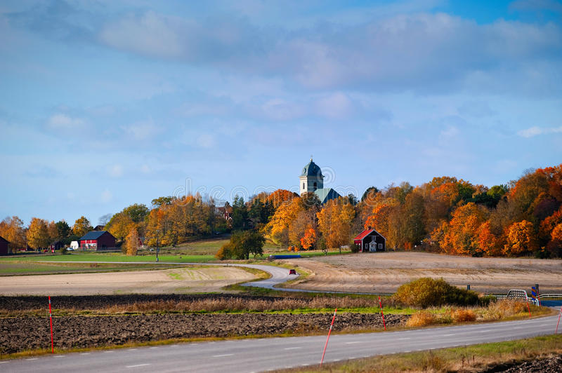 Autumn In Sweden Royalty Free Stock Image