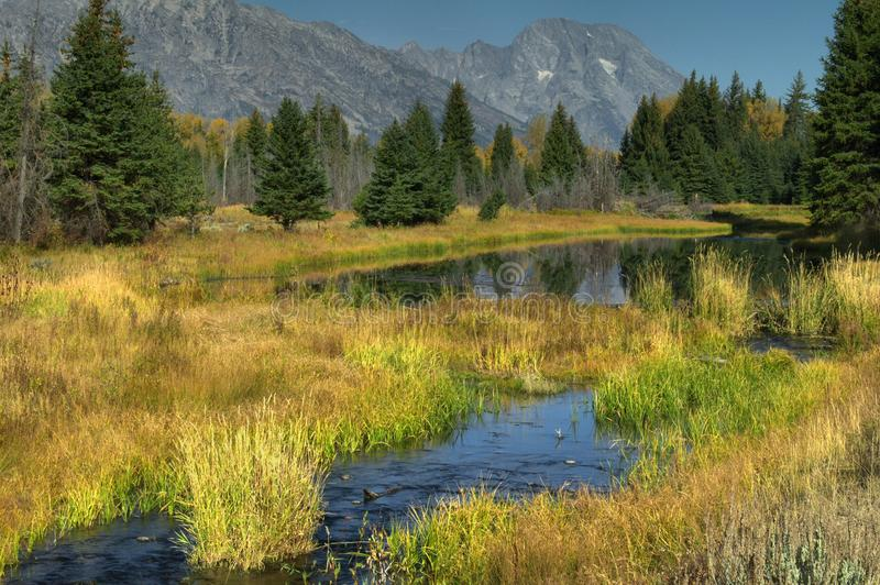 Download Autumn In The Tetons stock image. Image of photography - 12392591