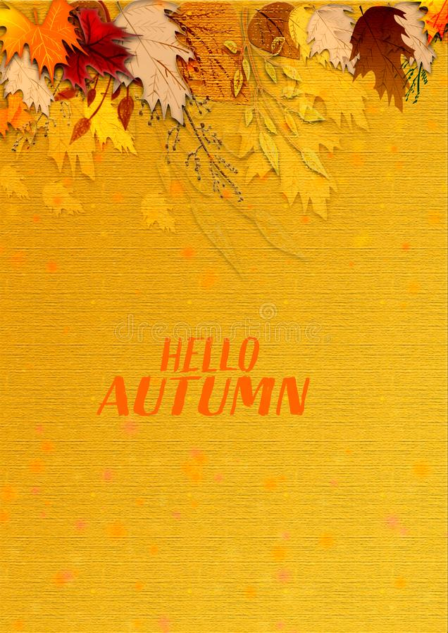 Free Autumn Textured Modern Artwork. Grungy Surface Texture Background. Royalty Free Stock Photography - 131632247