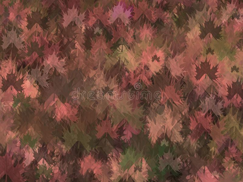 Autumn theme background. Glowing & vibrant colored texture background. vector illustration
