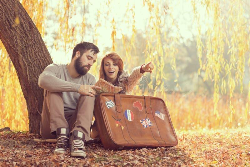 Autumn travel royalty free stock photos