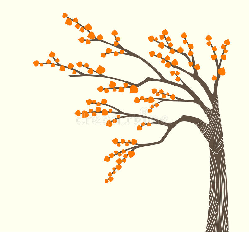 Download Autumn tree stock vector. Image of nature, landscape - 10773567