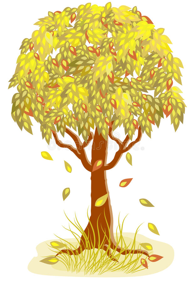 Download Autumn tree stock vector. Image of nature, landscape - 16702314