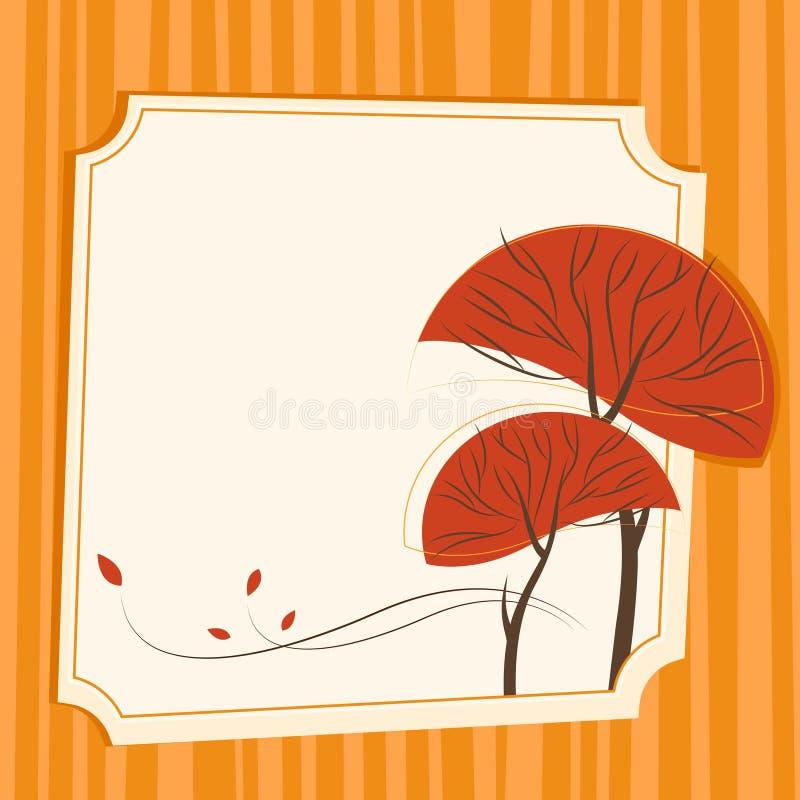 Download Autumn tree vector stock vector. Image of tree, illustration - 11666138