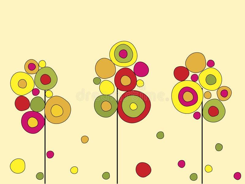 Download Autumn trees stock vector. Image of shape, seasonal, style - 6731987