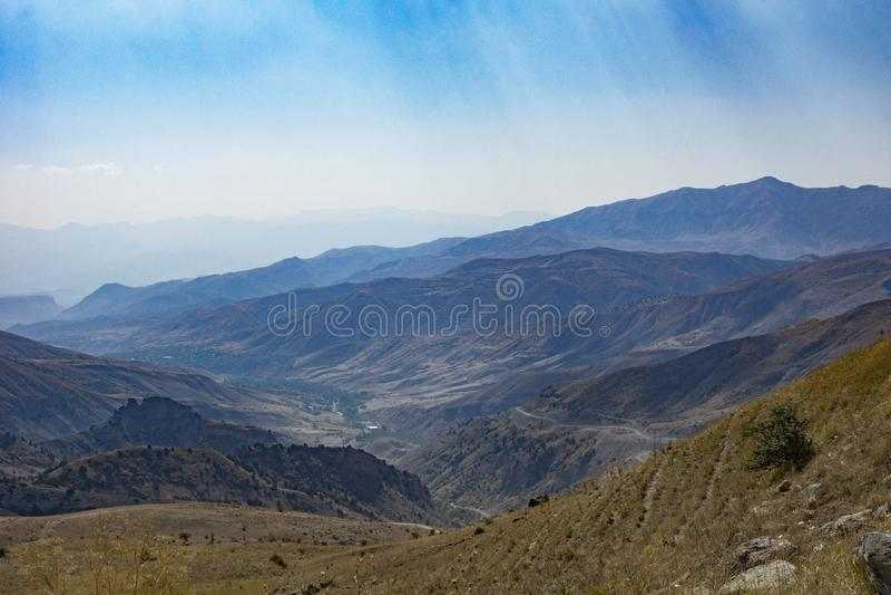 Traveling in Armenia stock photo