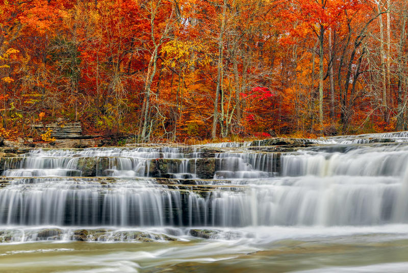 Download Autumn At Upper Cataract Falls Stock Photo - Image: 35208446