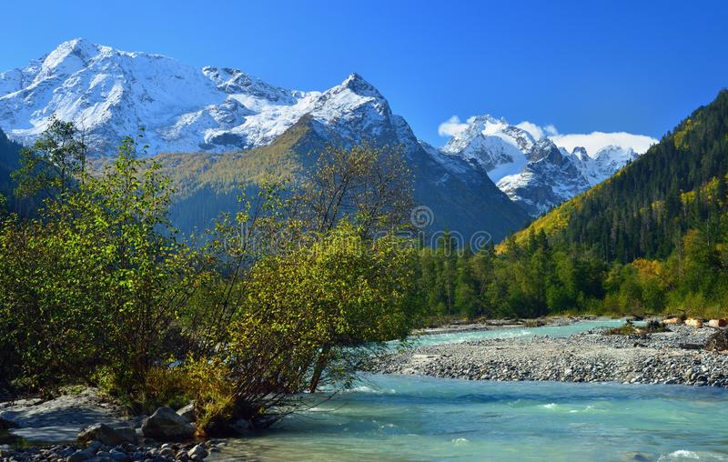 Autumn Valley fotografia stock
