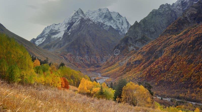 Autumn Valley immagini stock libere da diritti