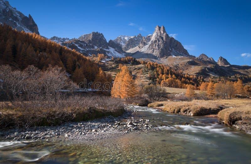 Autumn Valley stock foto