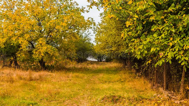 Autumn in Varbovchets 2 royalty free stock images