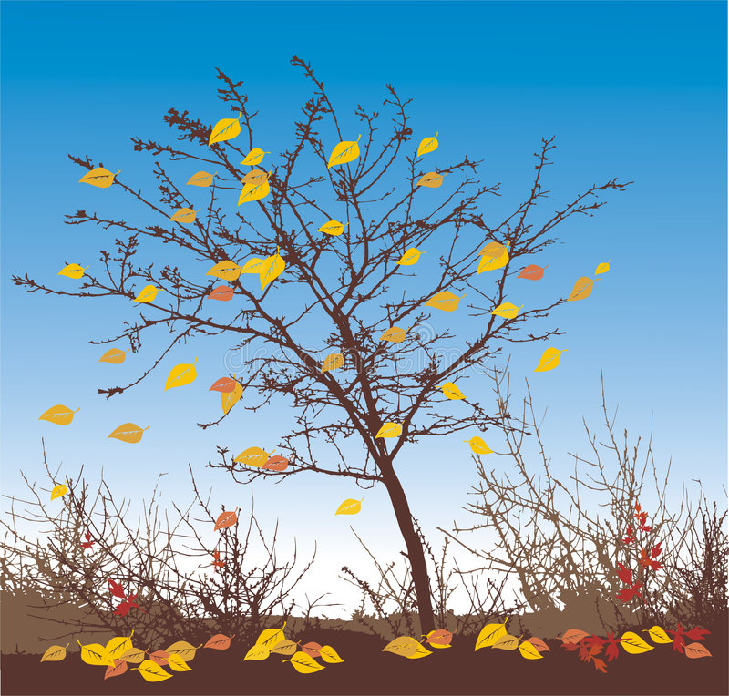Autumn vector illustration stock illustration