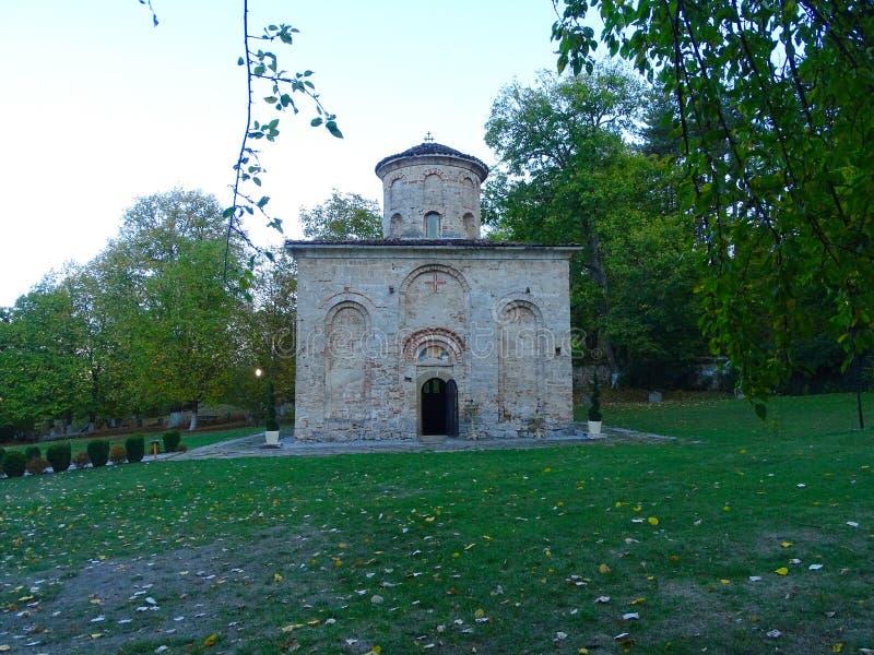 Autumn veiw from Zemen Monastery. Bulgarian Orthodox Monastery. stock images
