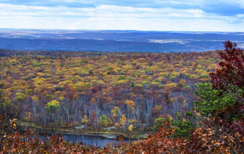 Autumn View da fuga apalaches imagem de stock