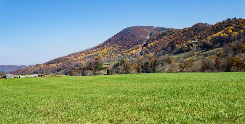 Autumn View da montanha do Catawba - 3 fotografia de stock royalty free