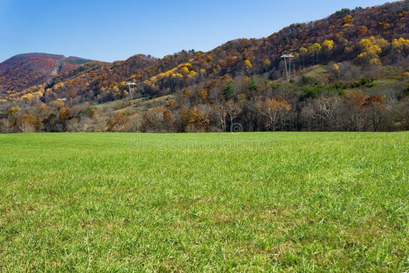 Autumn View van Catawba-Berg - 2 stock fotografie