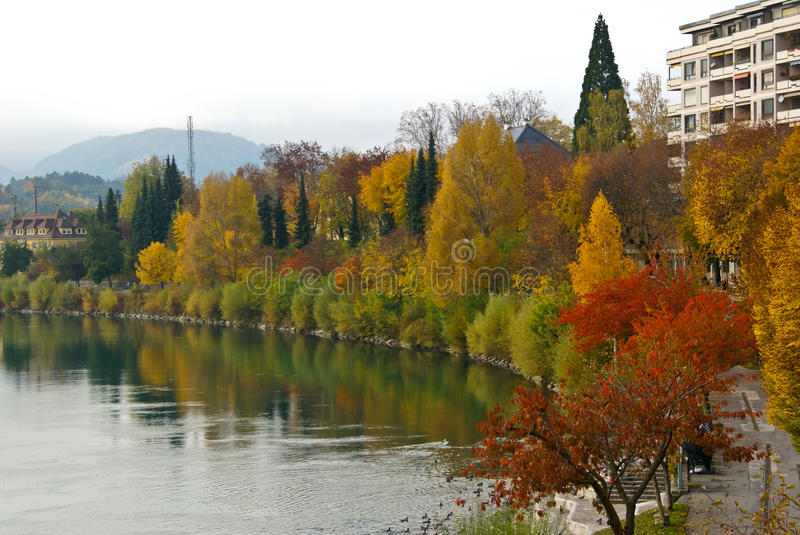 Download Autumn In Villach Stock Photography - Image: 16069072