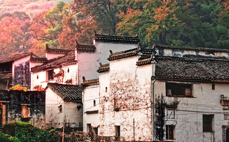 Autumn Village images libres de droits