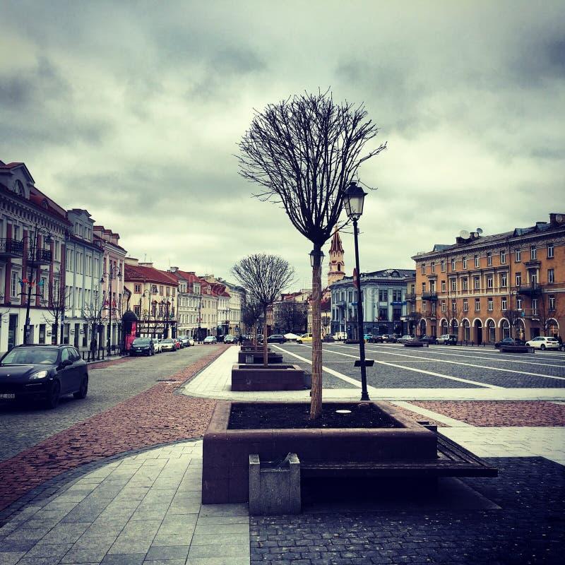 Autumn Vilnius, Lituania fotografie stock