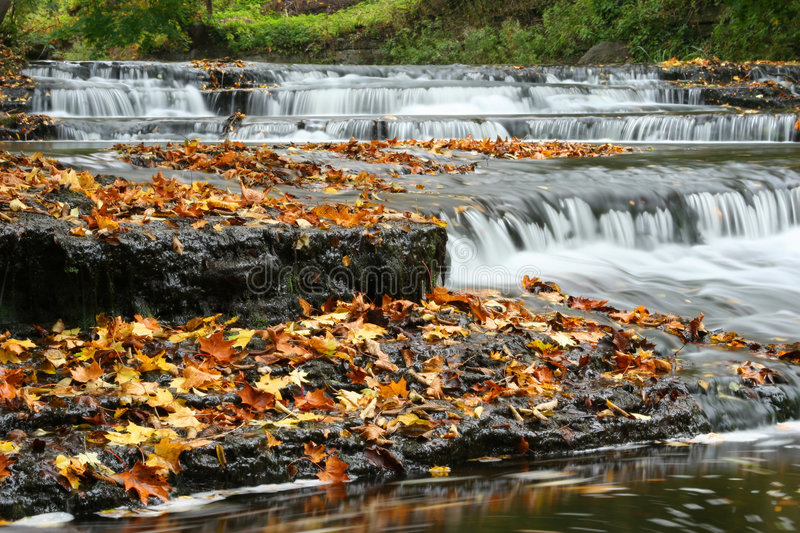 Download Autumn Waterfall In Estonia Stock Image - Image of landscapes, beauty: 1958547