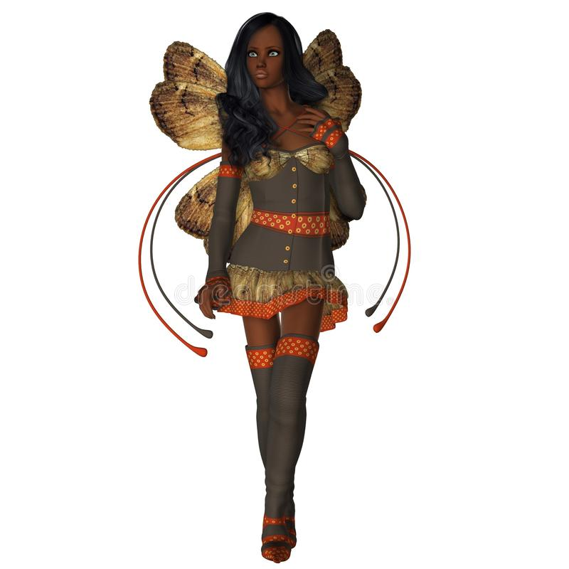 Download Autumn Wings African American Faerie Stock Illustration - Illustration of sprite ethnic 31295666  sc 1 st  Dreamstime.com & Autumn Wings African American Faerie Stock Illustration ...