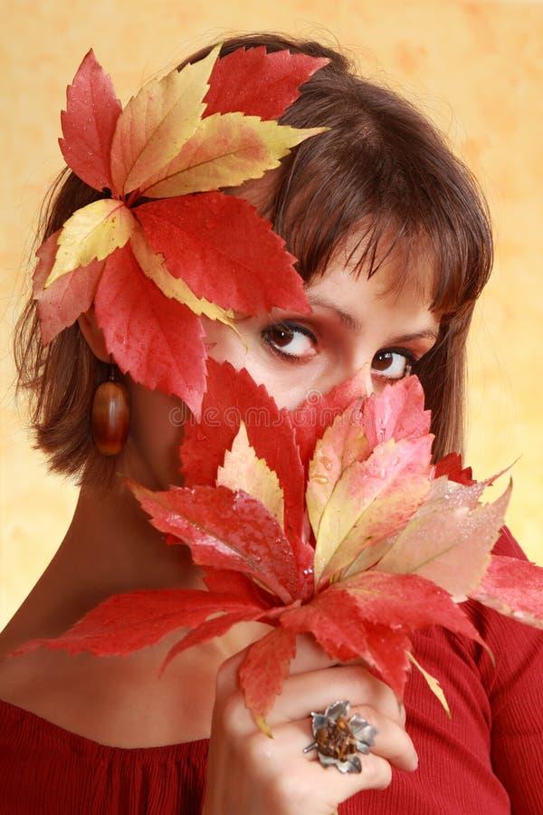 Free Autumn Woman Portrait Royalty Free Stock Image - 26996516