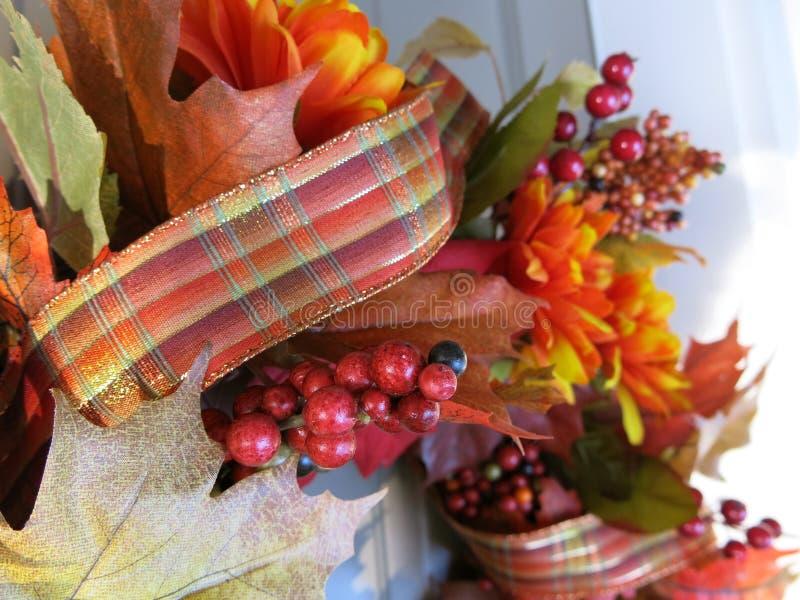 Autumn Wreath foto de archivo
