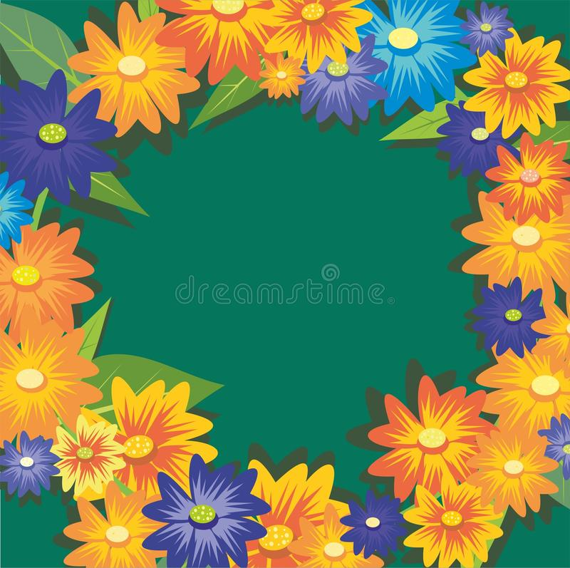 Autumn Wreath vector illustratie