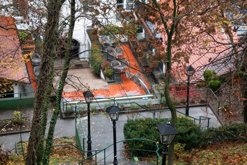Autumn In Zagreb, Kroatien stockbild