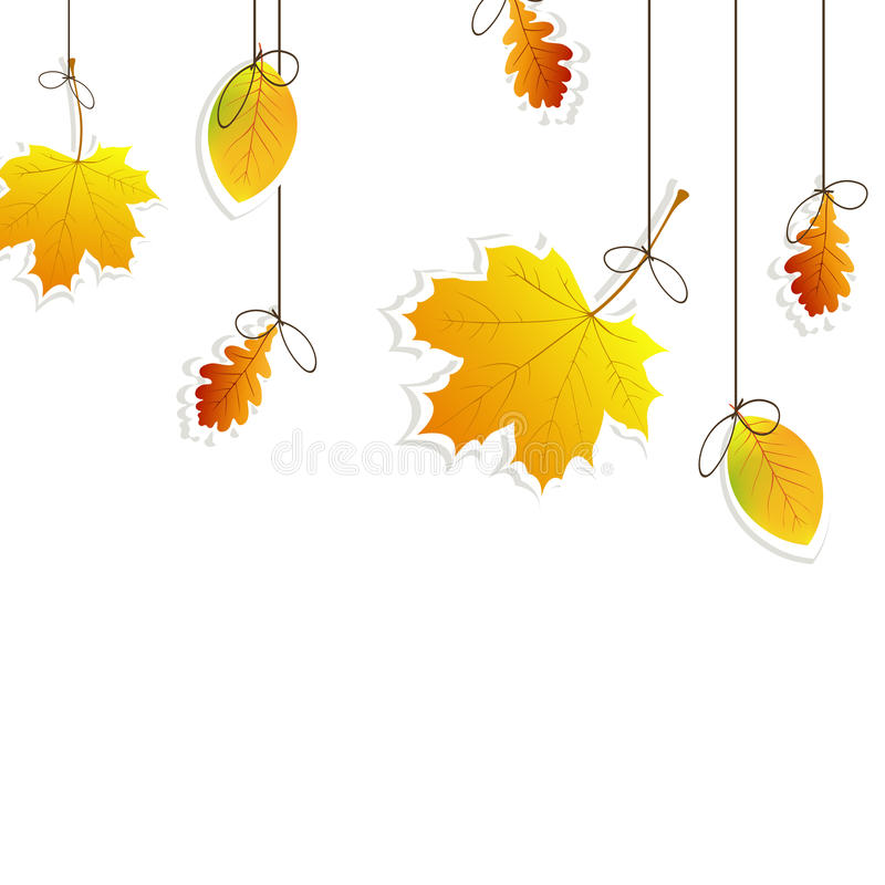 Download Autumnal background stock illustration. Illustration of brown - 25859620