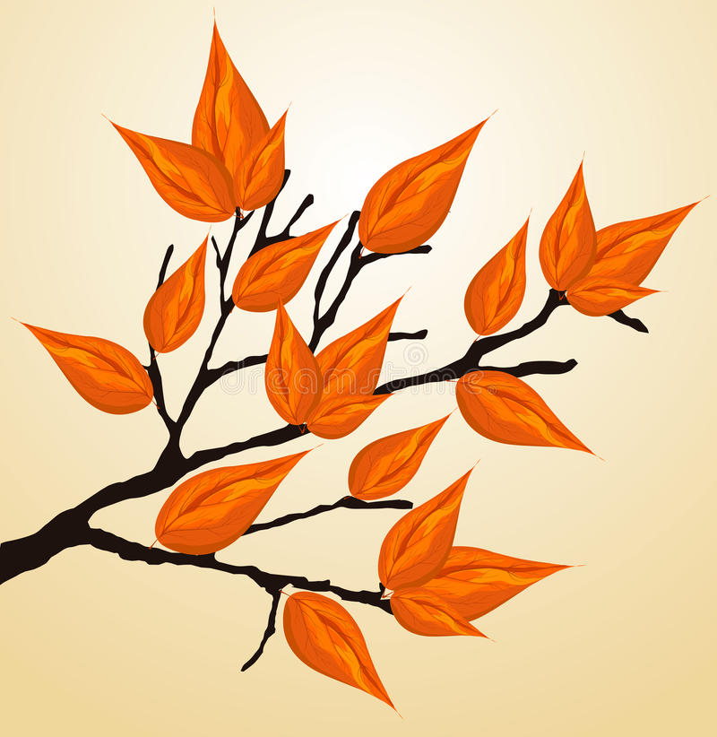 Download Autumnal brunch stock vector. Image of nature, illustration - 20690048