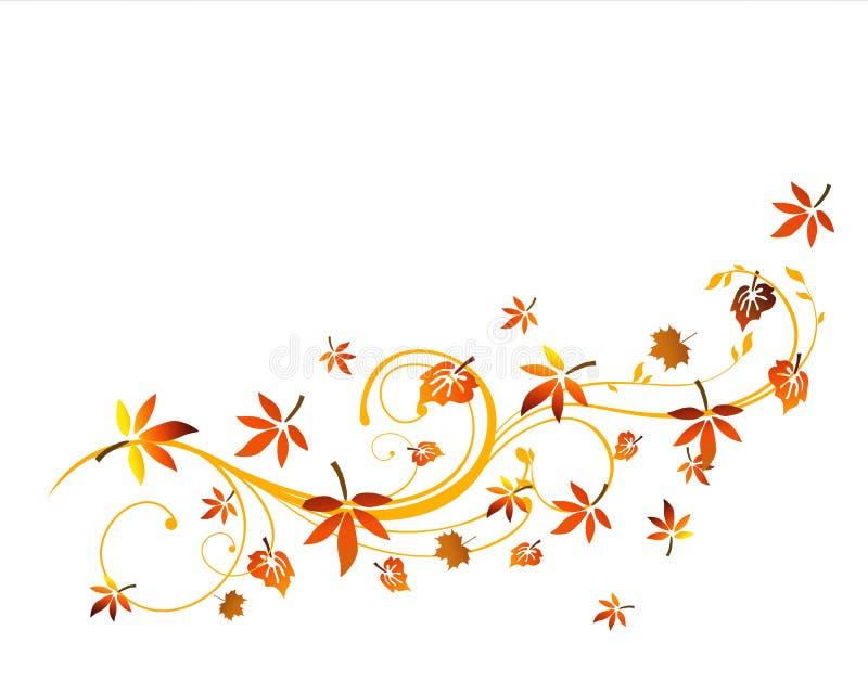 Autumnal design stock illustration