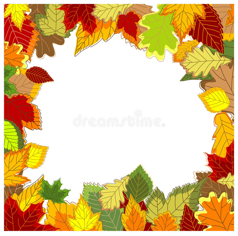 Download Autumnal frame stock vector. Illustration of environment - 22965730